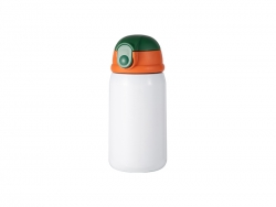 12oz/360ml Sublimation Kid Stainless Steel Bottle (White)