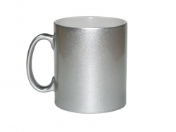 Sublimation 10oz Silver Sparkling Mug