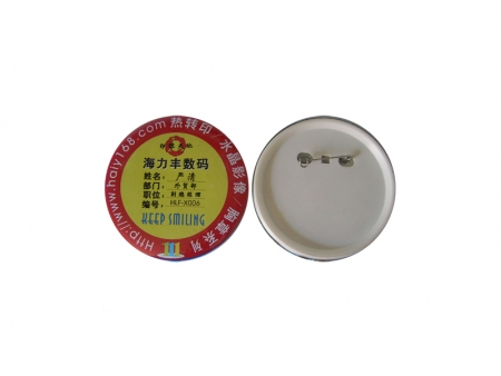 Sublimation 75mm Round Buttons