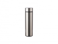 16OZ/450ml Sublimation Smart Stainless Steel Flask (Silver)