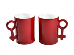 Sublimation 10oz Couple Color Changing Mugs