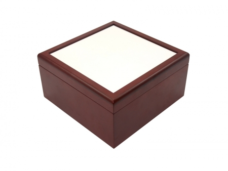 Sublimation Jewelry Box(6*6, Brown)