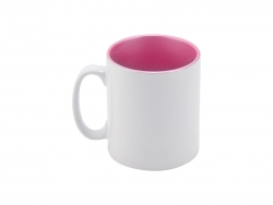 Sublimation 10oz Inner Sparkle Mug (Pink)