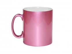 Sublimation 10oz Pink Sparkling Mug