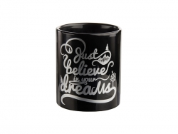 11oz Full Black Color Mug