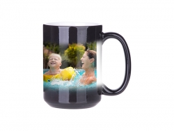Sublimation 15oz Color Changing Mug (Black)