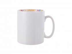 Sublimation 10oz Motto Mug (Merry Christmas)