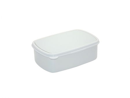 Sublimation Plastic Lunch Box (White)