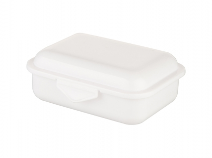 Sublimation Plastic Lunch Grid Box(White)